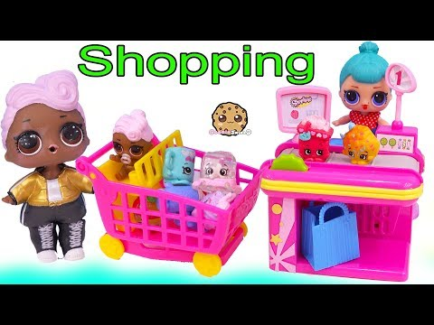 LOL Surprise Dolls Shopping At Shopkins Store + Surprise Blind Bags - UCelMeixAOTs2OQAAi9wU8-g