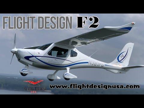 F2,  Light Sport Aircraft, Flight Design, F2 and F4 Series of LSA, Tom Peghiny, Flight Design USA.