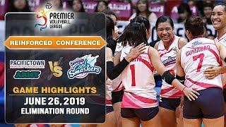 PacificTown-Army vs. Creamline - June 26, 2019   Game Highlights   #PVL2019