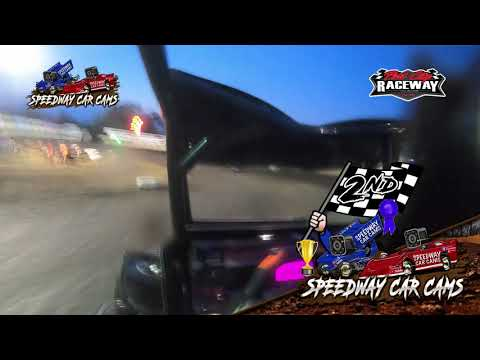 #9 Abigayle Lett - Non Wing Restrictor - 7-31-2021 Port City Raceway - In Car Camera - dirt track racing video image
