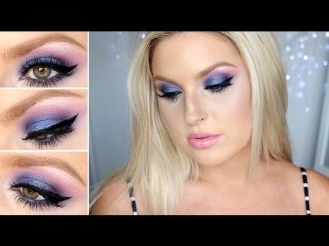 Purple & Blue Smokey Eyes! ♡ Using BH Cosmetics Eyeshadow! - UCMpOz2KEfkSdd5JeIJh_fxw
