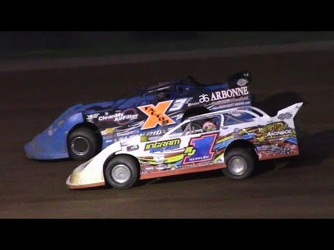 RUSH Crate Late Model Feature | McKean County Raceway | 8-17-17 - dirt track racing video image