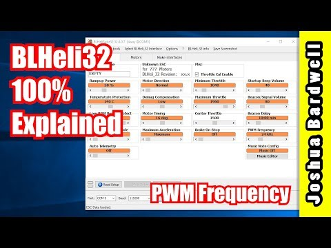 BLHeli32 100% Explained - Part 2 - PWM Frequency - UCX3eufnI7A2I7IkKHZn8KSQ