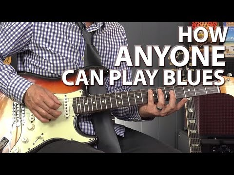 How ANYONE Can Play the Blues - Minimalistic Blues Playing - default