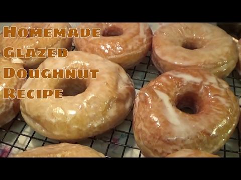 HOMEMADE Glazed Doughnut Recipe... - UCxWFay423FbCZ6-ot758-NA