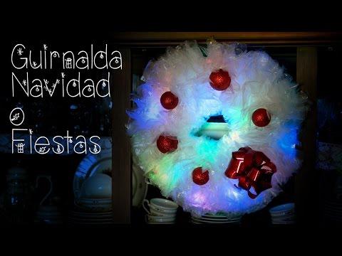 Guirnalda de Luces Bolsas de Plastico Recicladas, Navidad o Fiestas - UCQpwDEZenMK6rzhLqCZXRhw