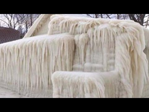 Winter storm leaves New York house completely frozen - UC8p1vwvWtl6T73JiExfWs1g