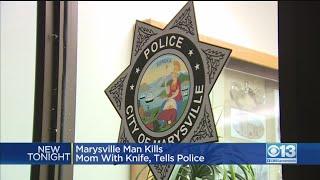 Marysville Man Tells Police He Stabbed His Mom