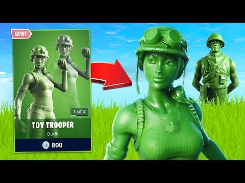 New Toy Soldier Skin! (Fortnite Battle Royale) - UC2wKfjlioOCLP4xQMOWNcgg