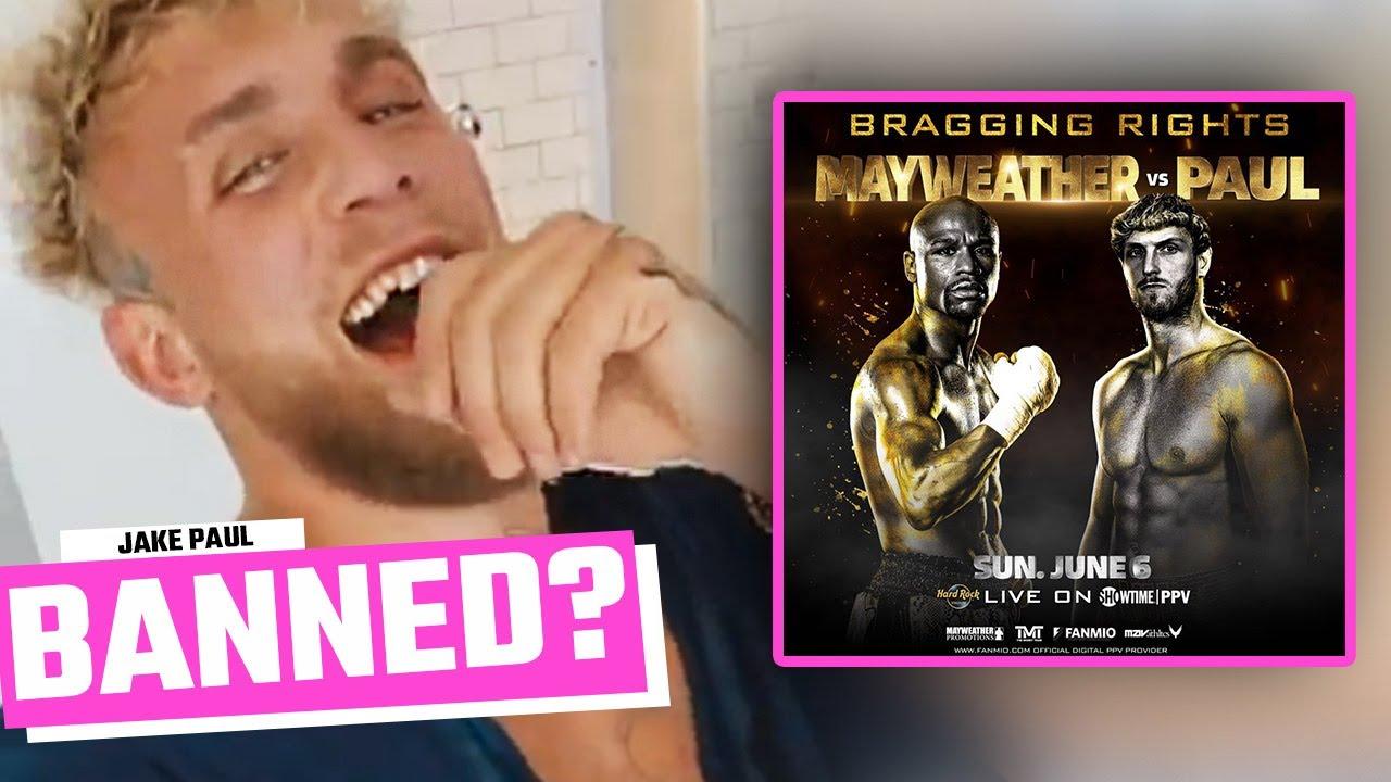 Jake Paul Banned From Logan Paul vs Floyd Mayweather Fight?