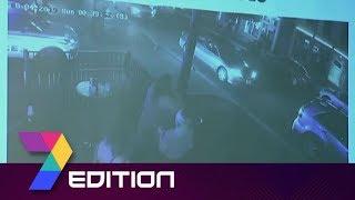Dayton Mass Shooting |Surveillance Video Shows Moment Gunfire Erupts
