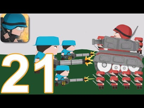 CLONE ARMIES - Walkthrough Gameplay Part 21 - PvP ARENA (iOS Android) - UCelj_uLD_7dNd_xjP3JMioA