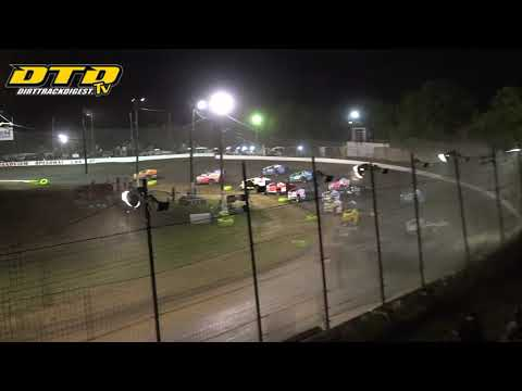 Grandview Speedway | Forrest Rogers Memorial Modified Feature Highlights | 8/14/21 - dirt track racing video image