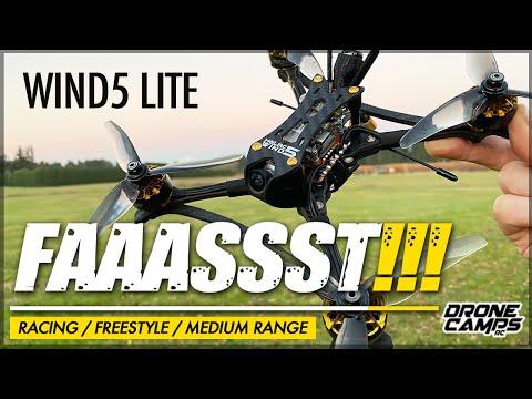 100MPH BEAST!!! - HGLRC WIND5 LITE Fpv Racing Drone - REVIEW & FLIGHTS 🏁 - UCwojJxGQ0SNeVV09mKlnonA