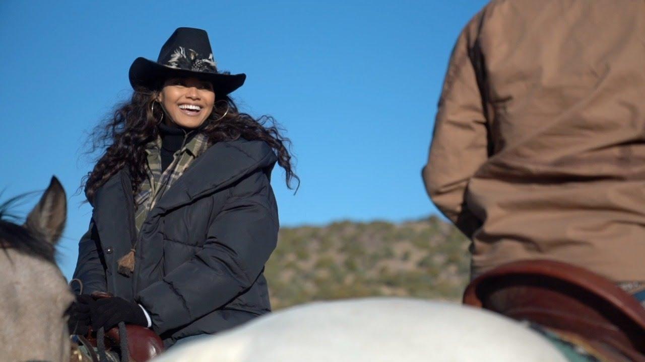 Danielle Herrington Goes Cattle Wrangling In Wyoming