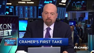 Cramer to economists: I don't want to hear that the Fed has to raise rates