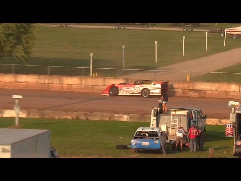 7/3/2021 Shawano Speedway Races - dirt track racing video image