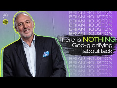 There is Nothing God Glorifying about Lack  Brian Houston  Hillsong Church Online