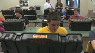 Company donates tools to help Greenville Co. students