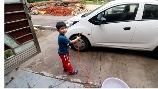 Smallest Car Cleaner | Car Wash | KTM Bike Wash | Born Creator