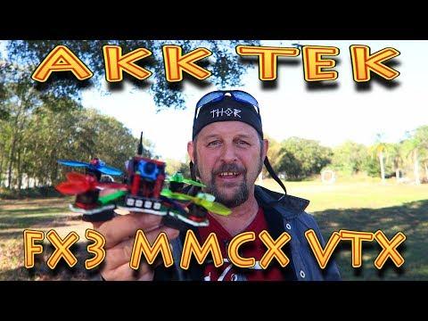 Review: AKK Tech FX3 MMCX VTX Flight Review!!! (12.10.2017) - UC18kdQSMwpr81ZYR-QRNiDg