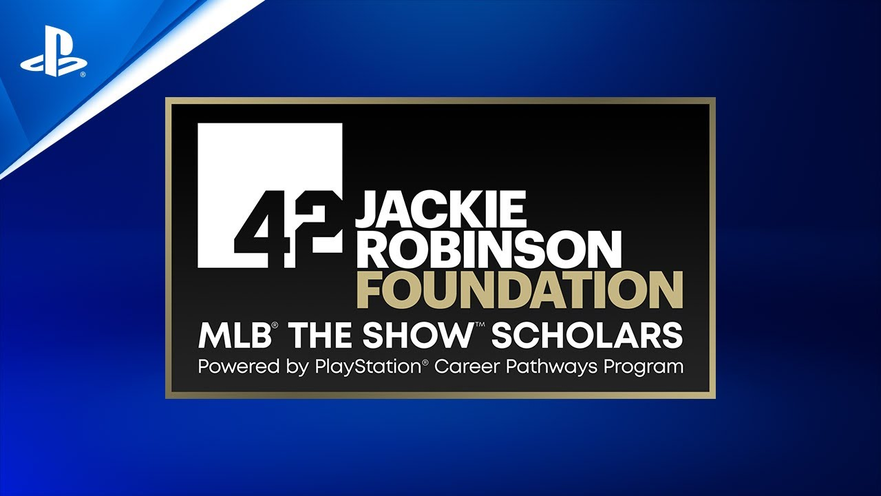 Jackie Robinson Foundation/PlayStation – MLB The Show Scholarships – First Applications Open