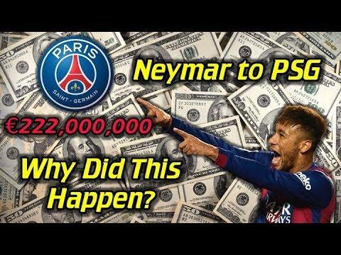 Neymar to PSG! - Why Did He Leave Barcelona? (€222,000,000 World Record Transfer Fee!) - UCUU3lMXc6iDrQw4eZen8COQ