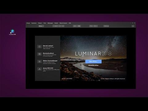 Skylum Luminar 2018 #01- Übersicht RAW Entwickler - UCfV5mhM2jKIUGaz1HQqwx7A