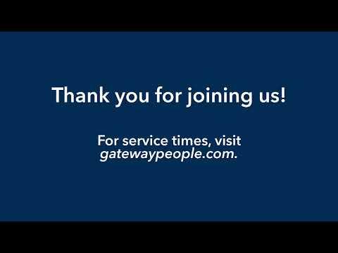 Gateway Church Live  Benefits of the Resurrection by Pastor Robert Morris  April 25