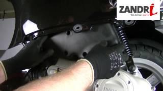 Smontaggio filtro aria Vespa Lx-Piaggio