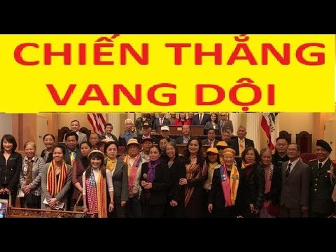 Tin mừng vang dội cho người Việt tị nạn CS tại Mỹ và khắp Thế Giới