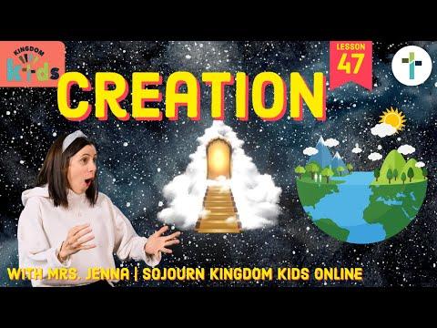 Creation  Sojourn Kingdom Kid's  Sunday Morning Lesson  Sojourn Church