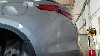 Sostituzione filtro gasolio Alfa Romeo Stelvio