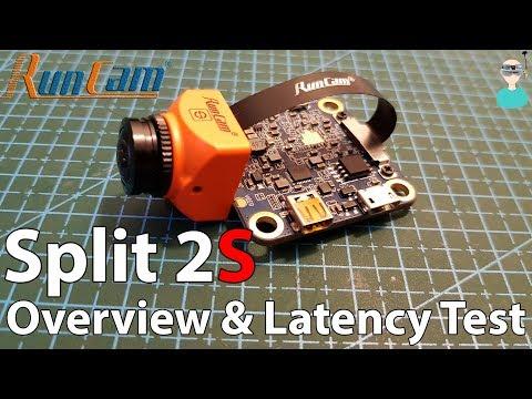 Runcam Split 2S - Overview & Latency Test - UCOs-AacDIQvk6oxTfv2LtGA