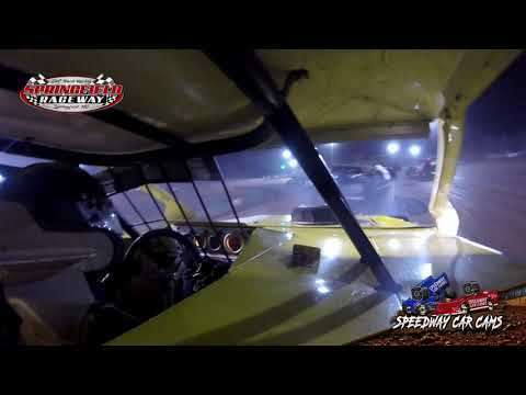 #21 Dallas Sales - Midwest Mod - 9-22-2020 Springfield Raceway - In Car Camera - dirt track racing video image