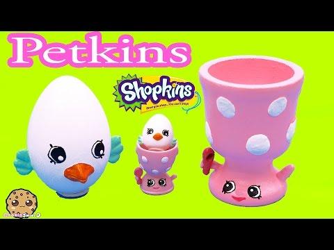 DIY Shopkins Season 4 Egg Petkins Eggchic Do It Yourself Craft Video Cookieswirlc - UCelMeixAOTs2OQAAi9wU8-g