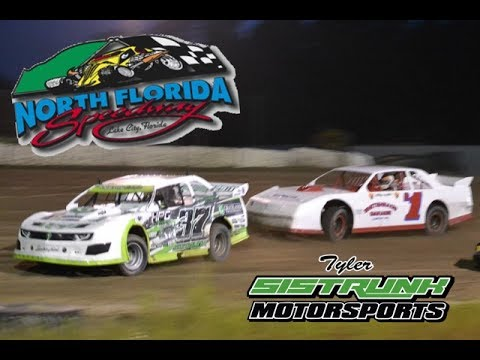 Tyler Sistrunk Motorsports - North Florida Speedway - Feature Race - 6-24-2017 - dirt track racing video image