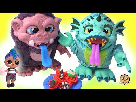 Making Playdoh Food for Crate Creatures Surprise with LOL Surprise Punk Boi - UCelMeixAOTs2OQAAi9wU8-g