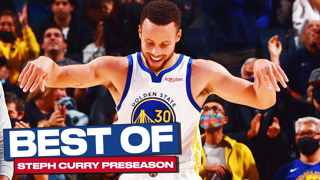 The Best of Steph Curry This Preseason! (50% Shooting)
