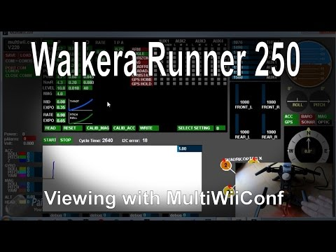 Walkera Runner 250 Quick Tip - Viewing settings with MultiWiiConf - UCp1vASX-fg959vRc1xowqpw