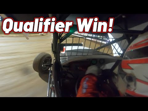 Tanner Holmes ASCS Sprint Car Qualifier Win | Lucas Oil Speedway | September 18th, 2020 - dirt track racing video image