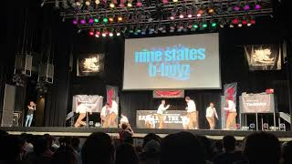 Nine states B boyz :  Battle of the year JAPAN 2019