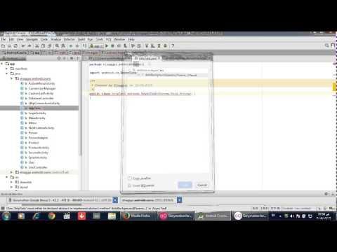كورس برمجة تطبيقات الاندرويد  26 AsyncTask doInBackground and onPostExecute