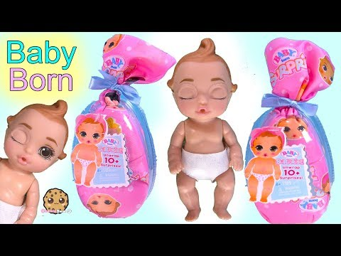 BABY BORN Surprise Blind Bags ! Water Color Change Babies - Toy Video - UCelMeixAOTs2OQAAi9wU8-g