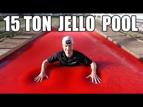 World's LARGEST JELLO POOL- Can you swim in Jello? - UCY1kMZp36IQSyNx_9h4mpCg