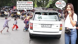 Shilpa Shetty's Unbelivable Disgμsting Behaviour With Beggar & Child Asking Simply For Some Food
