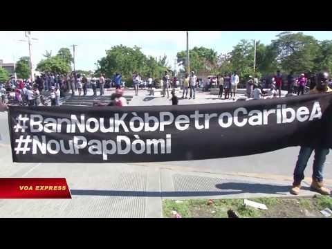 Haiti: Biểu tình chống tham nhũng, đòi Tổng thống từ chức (VOA)