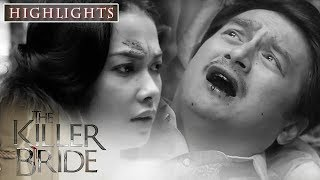 Felipe drags Camila away when a dying Javier points to her as his attacker   The Killer Bride