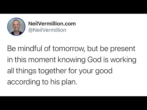 Be Present In This Moment - Daily Prophetic Word