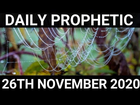 Daily Prophetic 26 November 2020 2 of 12